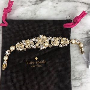 Kate Spade Pick a Pearl Delicate Gold Bracelet